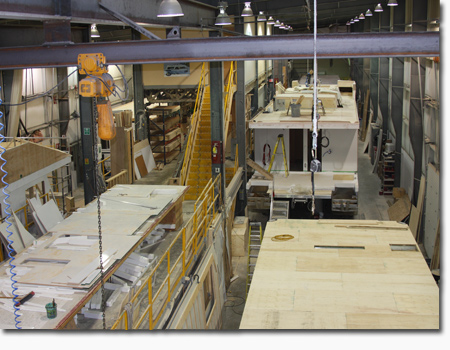 houseboat manufacturing